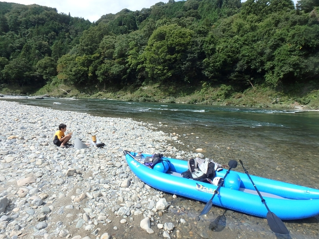 ビオビオⅡで奈良県吉野川(3回目)_c0113733_053630.jpg