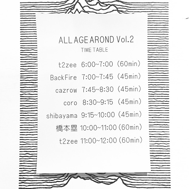 ALL AGE AROUND Vol.2 (追記あり)_e0121640_19244934.jpg