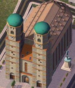 ドイツ9日間の旅 7 ミュンヘン旧市街の教会_a0092659_174215.jpg