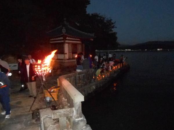 名勝和歌の浦 観月会 竹燈夜IN妹背山_c0367107_18330328.jpg