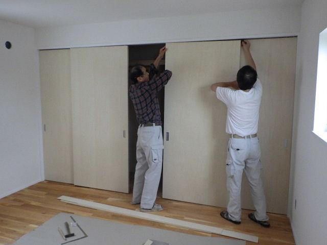 向中野 貸家新築工事 進行中 もうすぐ完成です。_f0105112_6303872.jpg