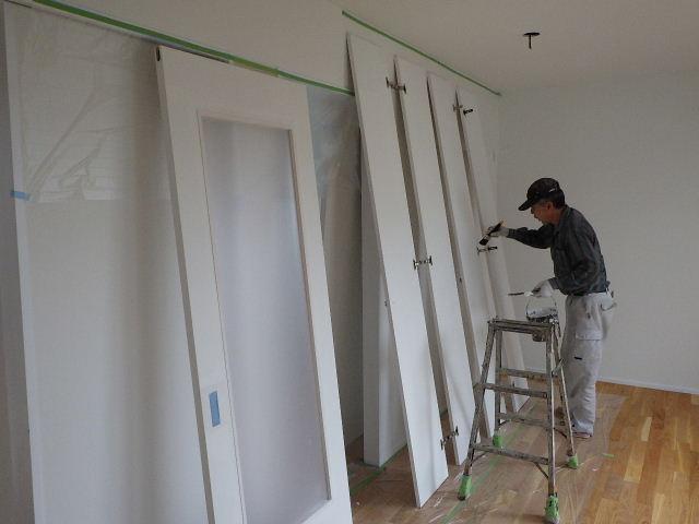 向中野 貸家新築工事 進行中 もうすぐ完成です。_f0105112_6311855.jpg