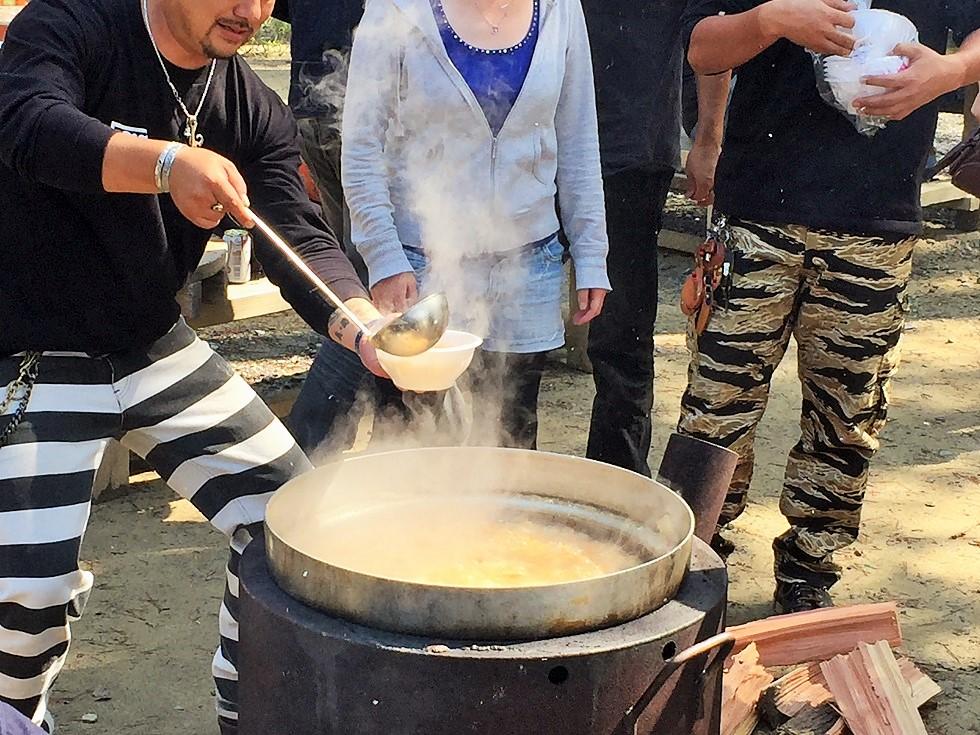 秋 芋煮 -次男坊會~season3_c0261447_2241582.jpg
