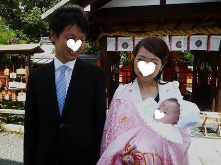 家族揃って、氏神様へ初孫のお宮参りへ。_f0181251_15184879.jpg