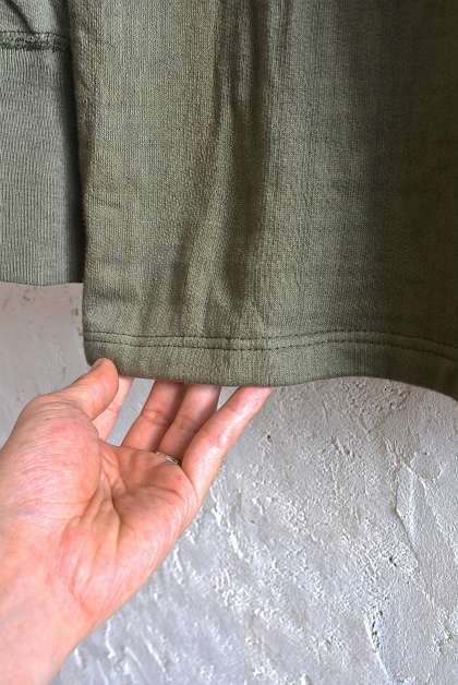 Greek army cotton od cut&sawn dead stock_f0226051_16453880.jpg