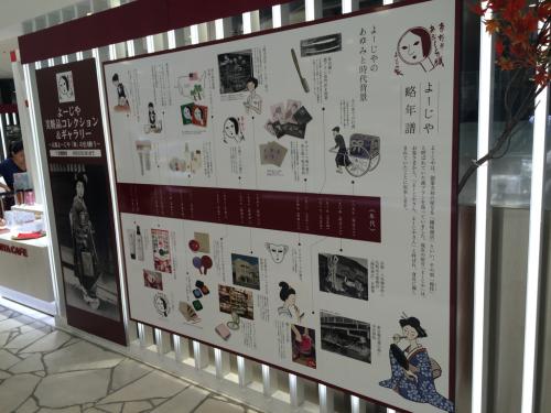 渋谷ヒカリエ ⭐️ よーじやの歴史_c0151965_14475346.jpg