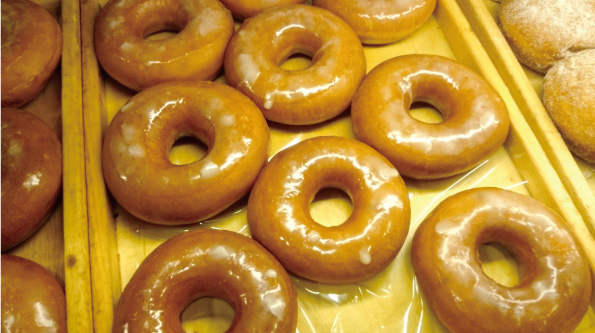 パン・リゾッタの「さっくりドーナツ(グレーズ)」_d0272182_21233102.jpg
