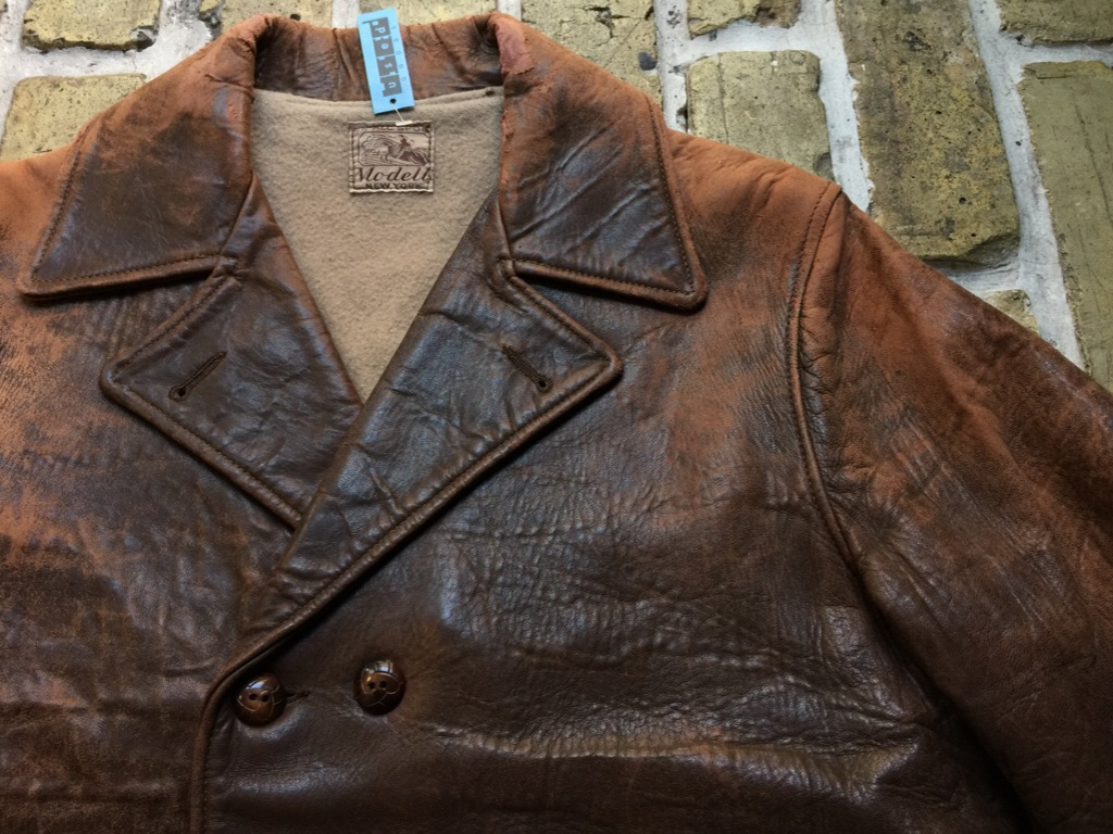 神戸店9/30(水)冬物ヴィンテージ入荷!#4 1930\'s Hercules Mackinaw, 40\'s HorseRiding Leather JKT!!!_c0078587_16103218.jpg