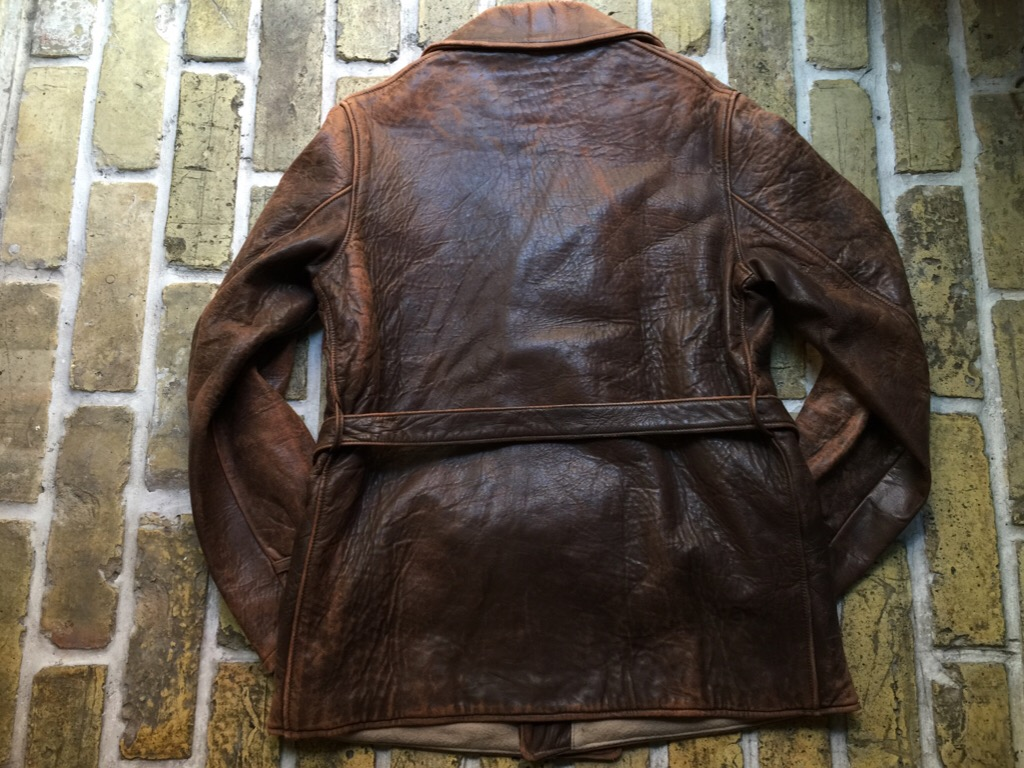 神戸店9/30(水)冬物ヴィンテージ入荷!#4 1930\'s Hercules Mackinaw, 40\'s HorseRiding Leather JKT!!!_c0078587_16104770.jpg