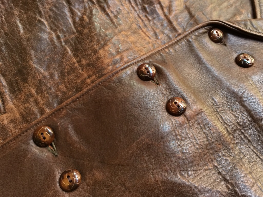 神戸店9/30(水)冬物ヴィンテージ入荷!#4 1930\'s Hercules Mackinaw, 40\'s HorseRiding Leather JKT!!!_c0078587_16111895.jpg