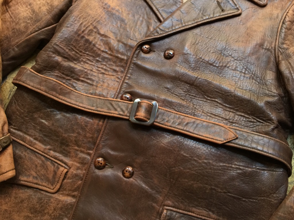 神戸店9/30(水)冬物ヴィンテージ入荷!#4 1930\'s Hercules Mackinaw, 40\'s HorseRiding Leather JKT!!!_c0078587_16122090.jpg