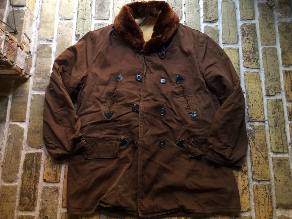 神戸店9/30(水)冬物ヴィンテージ入荷!#4 1930\'s Hercules Mackinaw, 40\'s HorseRiding Leather JKT!!!_c0078587_16431069.jpg