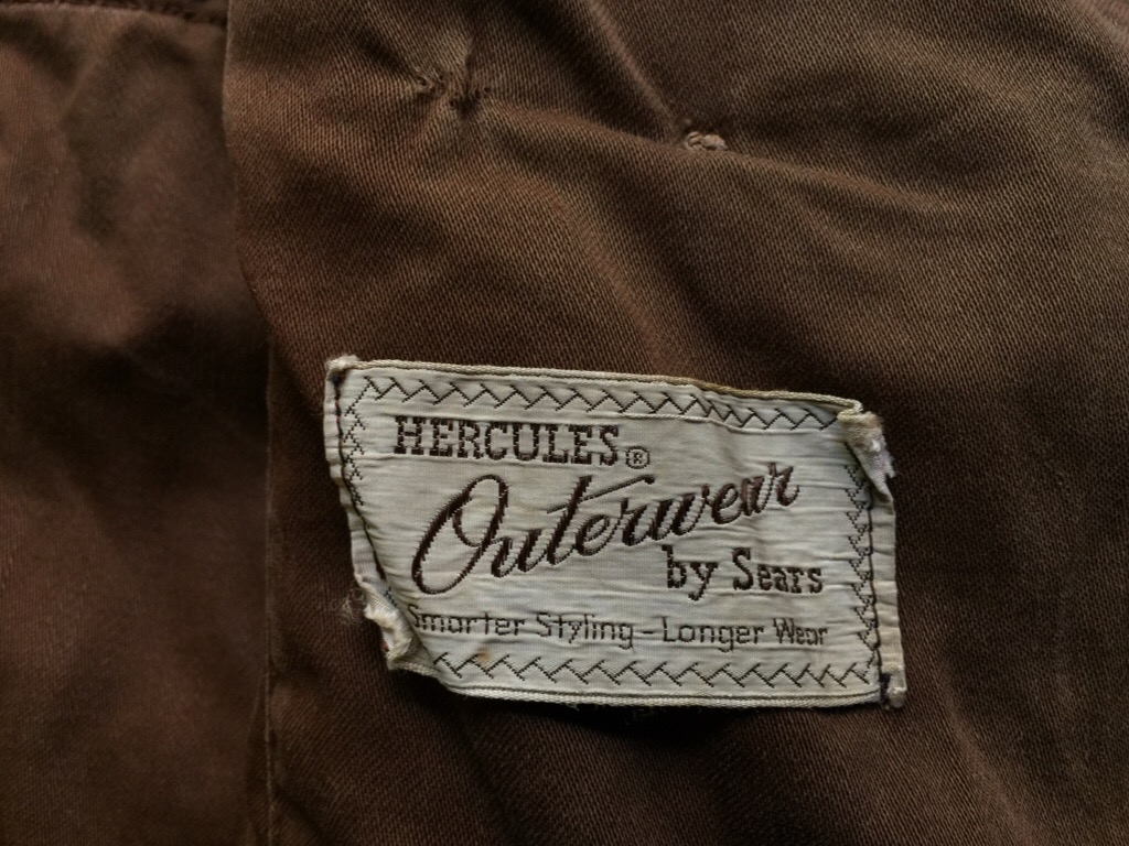 神戸店9/30(水)冬物ヴィンテージ入荷!#4 1930\'s Hercules Mackinaw, 40\'s HorseRiding Leather JKT!!!_c0078587_16451372.jpg