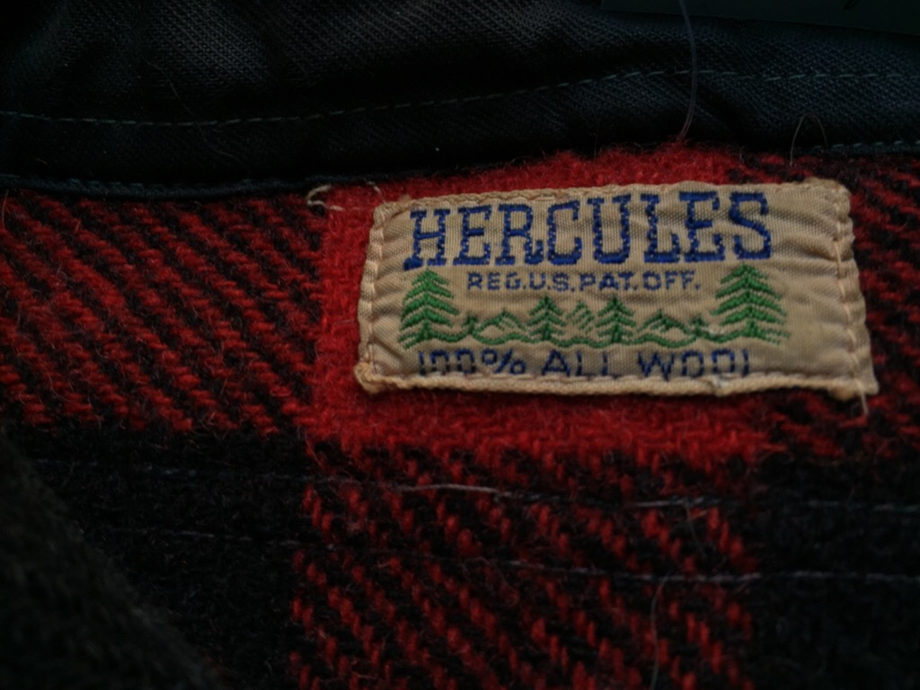 神戸店9/30(水)冬物ヴィンテージ入荷!#4 1930\'s Hercules Mackinaw, 40\'s HorseRiding Leather JKT!!!_c0078587_164919.jpg