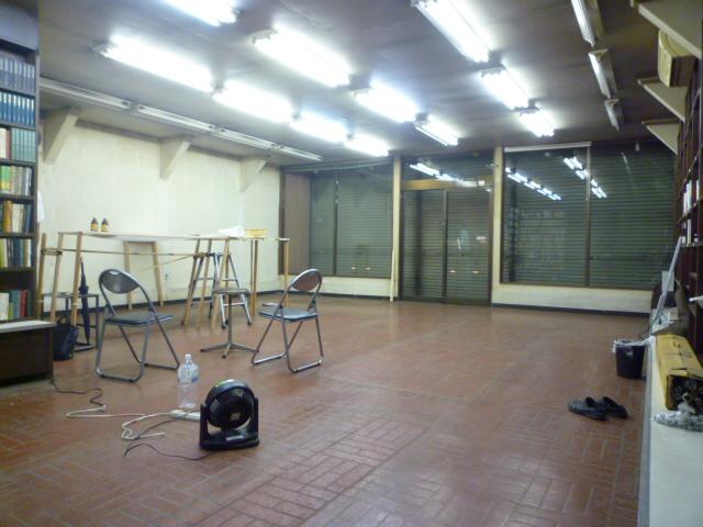 店舗改装中_e0190287_2162592.jpg