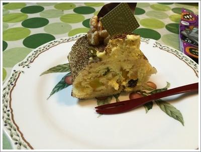 無料のケーキ作り体験、本番のハロウィンもこれにしよう!!_b0175688_20332624.jpg