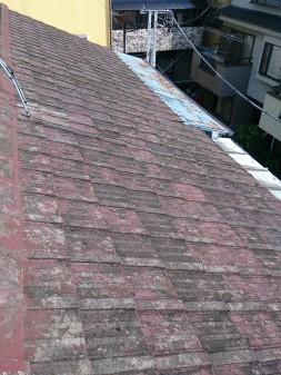 板橋区の徳丸で、雨漏り修理工事_c0223192_22342264.jpg
