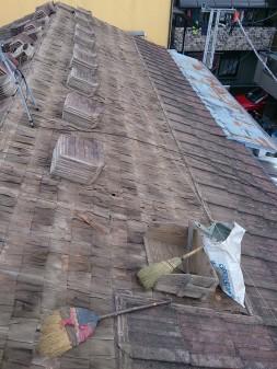 板橋区の徳丸で、雨漏り修理工事_c0223192_22422388.jpg