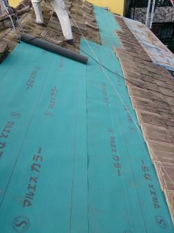板橋区の徳丸で、雨漏り修理工事_c0223192_2244359.jpg