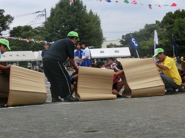 曇り空の下、暑くなくちょうど良かった「第46回 今泉地区体育祭」_f0141310_7224365.jpg