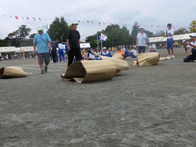 曇り空の下、暑くなくちょうど良かった「第46回 今泉地区体育祭」_f0141310_722517.jpg