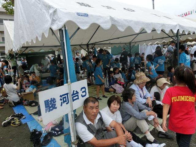 曇り空の下、暑くなくちょうど良かった「第46回 今泉地区体育祭」_f0141310_7231952.jpg