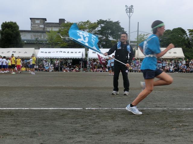 曇り空の下、暑くなくちょうど良かった「第46回 今泉地区体育祭」_f0141310_7243131.jpg