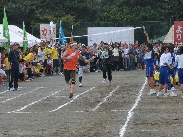 曇り空の下、暑くなくちょうど良かった「第46回 今泉地区体育祭」_f0141310_7245020.jpg