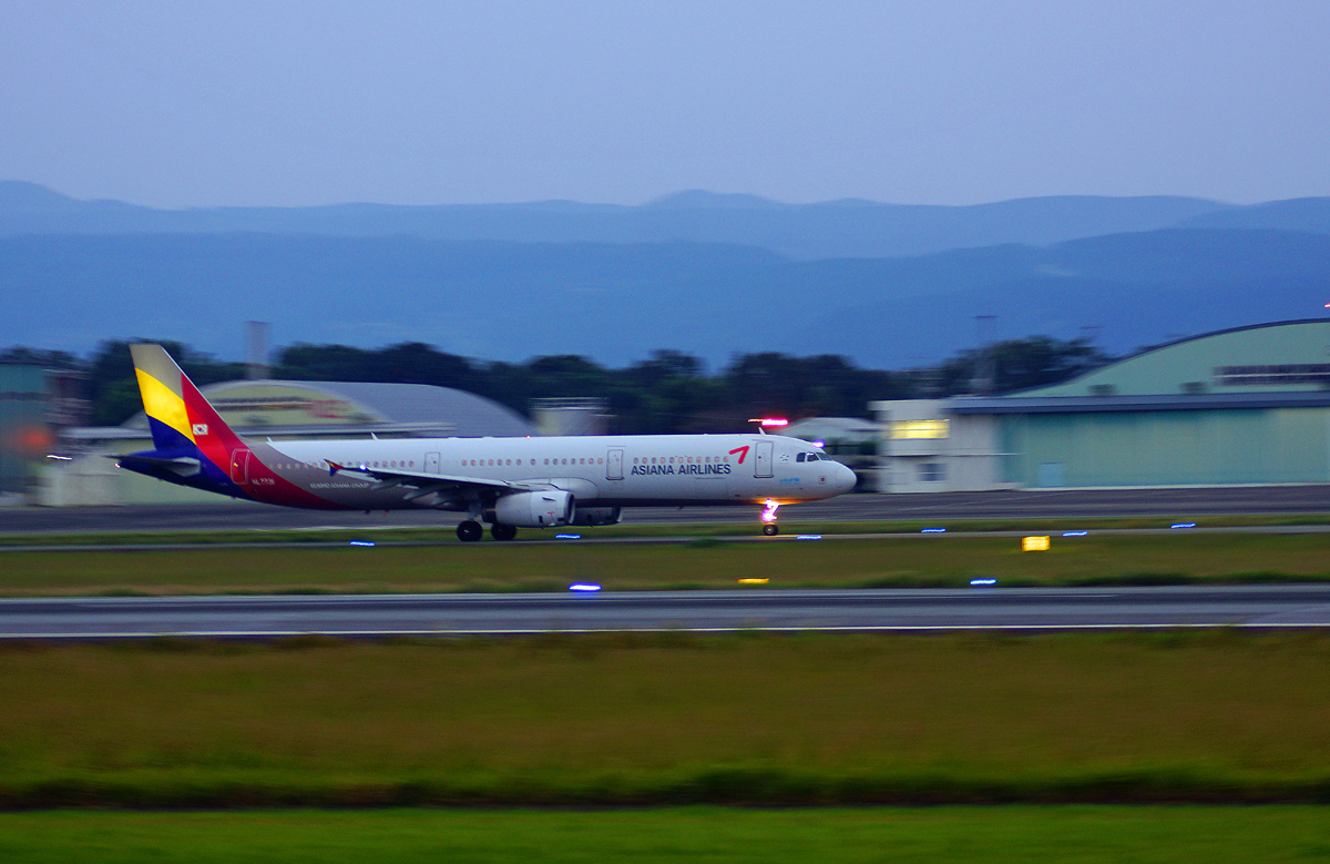 ASIANA AIRLINS。_b0044115_12531333.jpg