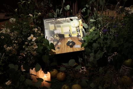 秋の装花 クラシカル&ガーデン風 シェ松尾青山サロン様へ_a0042928_11403117.jpg