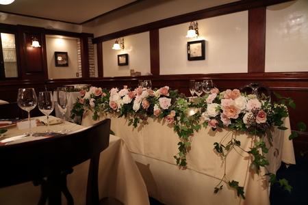 秋の装花 クラシカル&ガーデン風 シェ松尾青山サロン様へ_a0042928_11411963.jpg