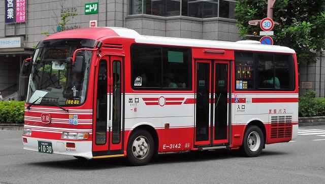 京阪バス~リエッセ  E-3142_a0164734_2154286.jpg