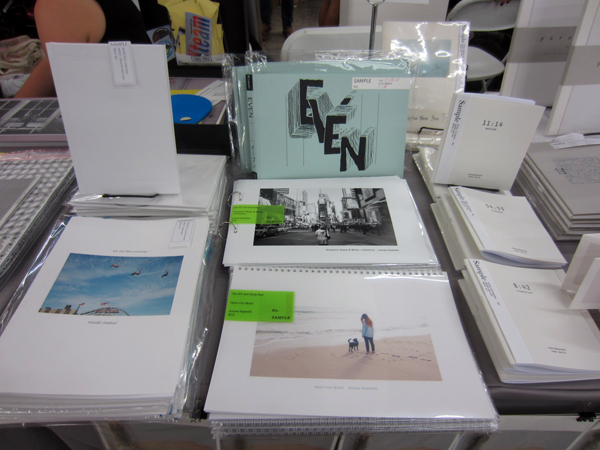 THE NY ART BOOK FAIR at PS1_PEPPER'S  BOOTH_c0096440_7464459.jpg