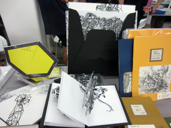 THE NY ART BOOK FAIR at PS1_PEPPER'S  BOOTH_c0096440_7513916.jpg