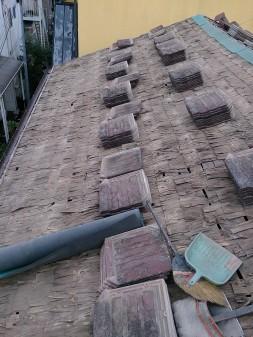 板橋区の徳丸で、瓦屋根雨漏り修理工事_c0223192_22374559.jpg