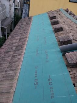 板橋区の徳丸で、瓦屋根雨漏り修理工事_c0223192_22391186.jpg