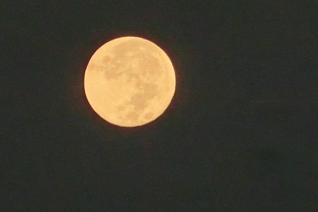 藤田八束の自然の美しさ@夕方から朝方に光輝く「スーパームーン」に希望を託す_d0181492_23232920.jpg