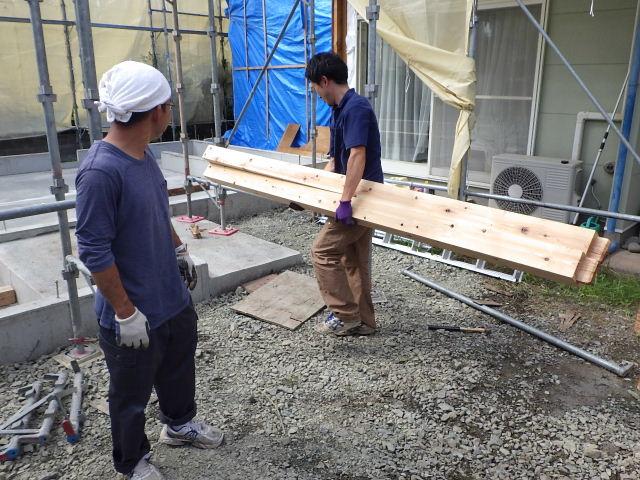 緑ヶ丘 増改築リフォーム工事 進行中。_f0105112_6361130.jpg