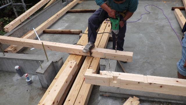 緑ヶ丘 増改築リフォーム工事 進行中。_f0105112_6375860.jpg