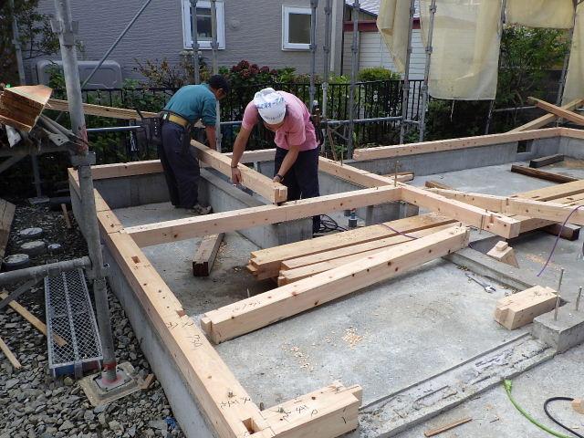 緑ヶ丘 増改築リフォーム工事 進行中。_f0105112_6394317.jpg