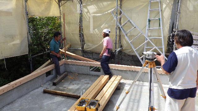 緑ヶ丘 増改築リフォーム工事 進行中。_f0105112_6413523.jpg