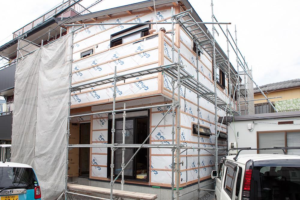 狭小地に建てるゆったり空間の家─その3─_a0163962_208587.jpg