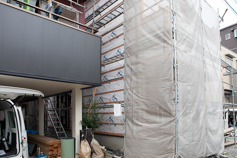 狭小地に建てるゆったり空間の家─その3─_a0163962_2085965.jpg