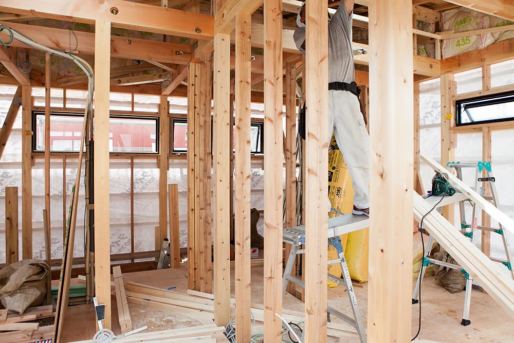 狭小地に建てるゆったり空間の家─その3─_a0163962_2091927.jpg