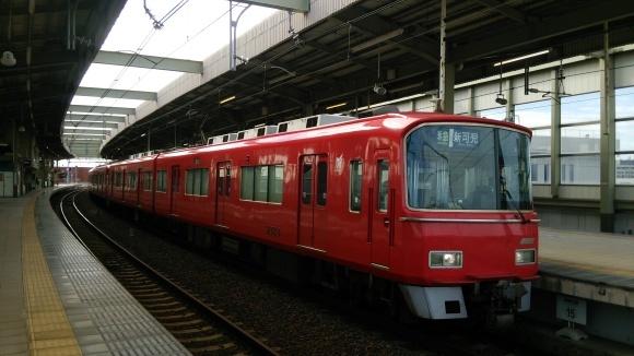 名鉄  常滑駅にて_d0202264_08591921.jpg