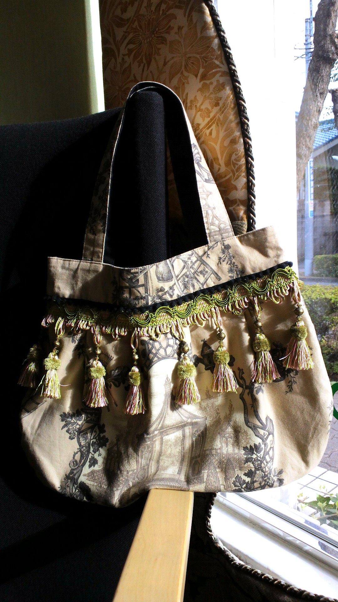 布バッグのリメイク_c0157866_1685010.jpg