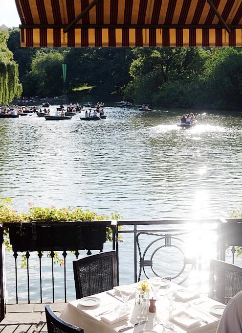 やっぱり水辺は癒されますね~セントラルパークのThe Lake周辺の様子_b0007805_23114591.jpg