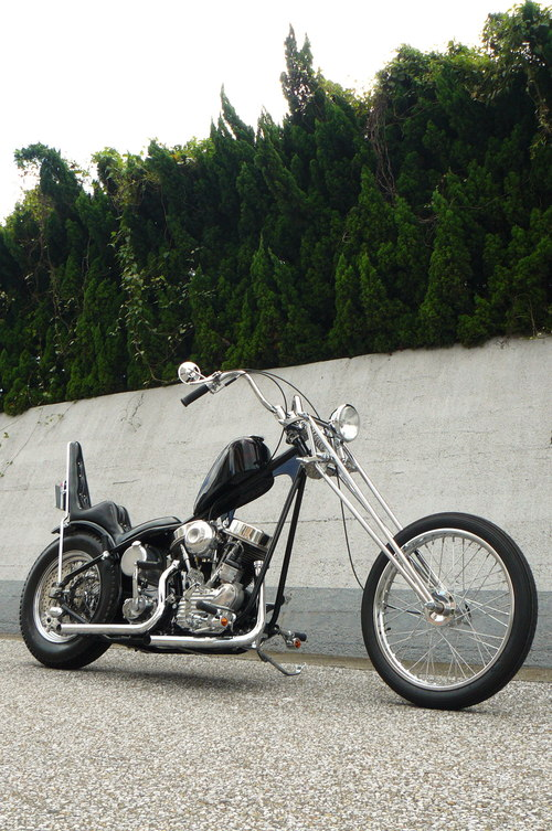 \'52 FL PANHEAD Chopper_b0160319_11543528.jpg