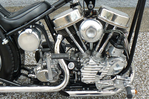 \'52 FL PANHEAD Chopper_b0160319_11553060.jpg