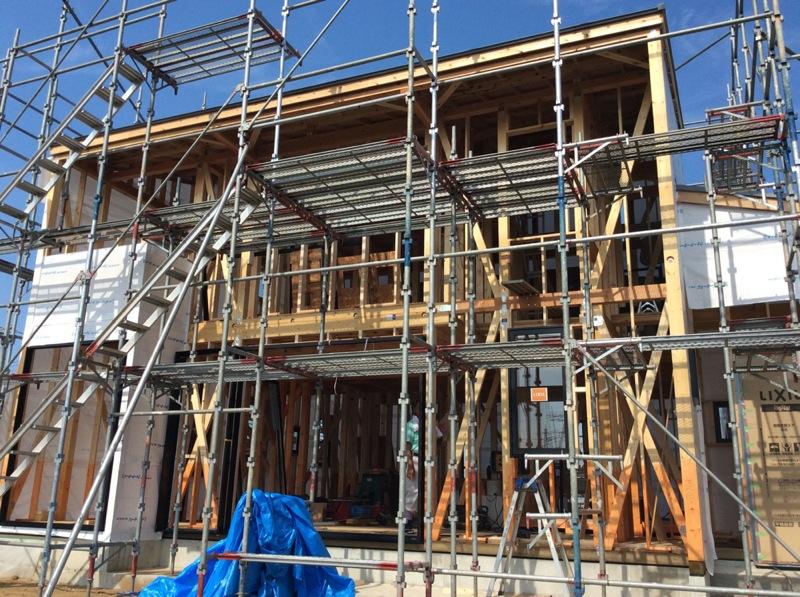 W邸新築工事現場_c0004024_10343014.jpg